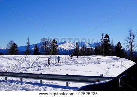 majestic scenery of the Northwest Caucasus