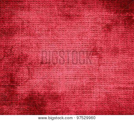 Grunge background of desire burlap texture