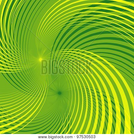 Green Backgrounds design template abstract