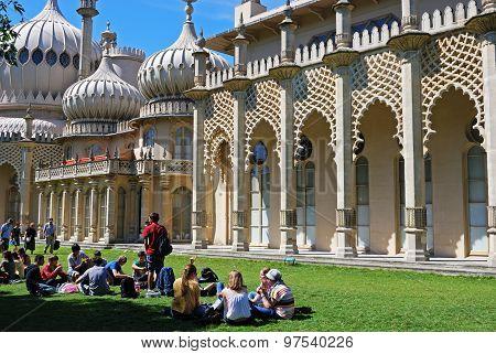 The Royal Pavilion, Brighton.