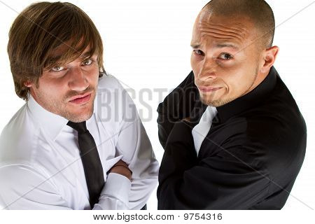 Two Funny Businessmen