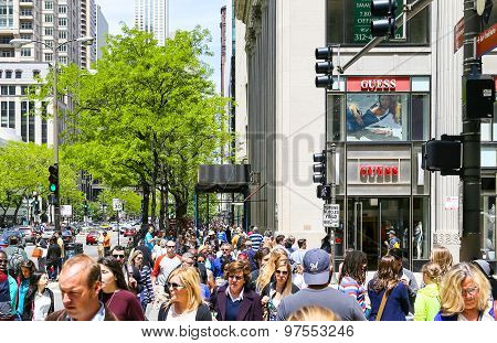 Shopping in Chicago
