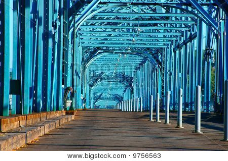 Walnut Street Bridge of Chattanooga