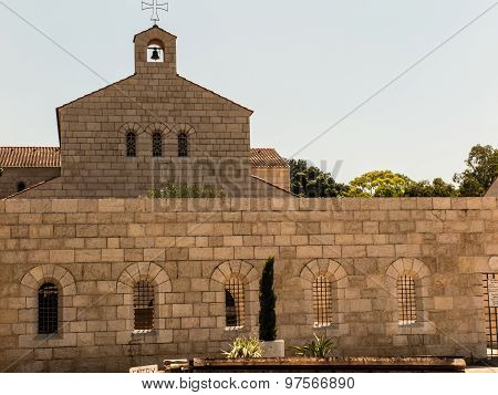 Catholic Church Of The Multiplication Of Bread And Fishes In Tabgha On Lake Tiberias About A Month A