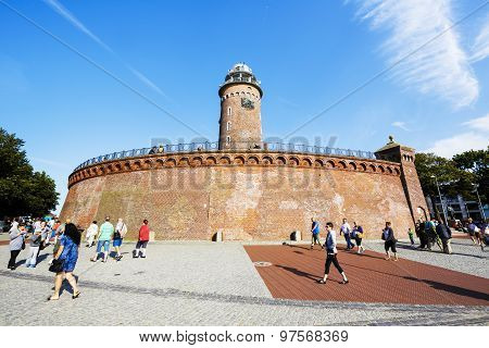 The Lighthouse In Kolobrzeg, Poland