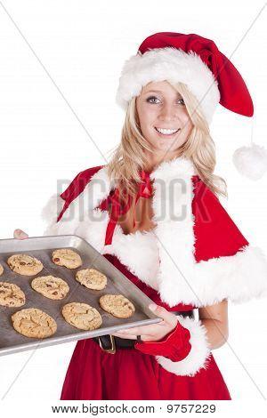 Santas Helper With Pan Cookies
