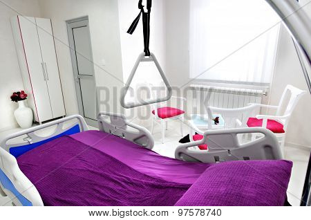 Empty Hospital Room Interior