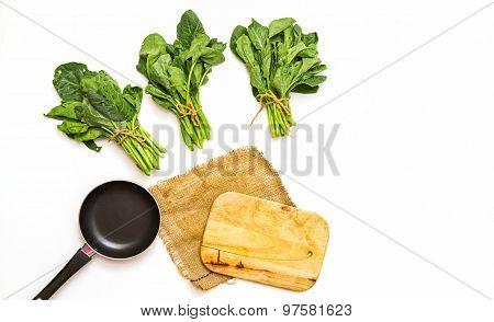 Fresh Green Kale.
