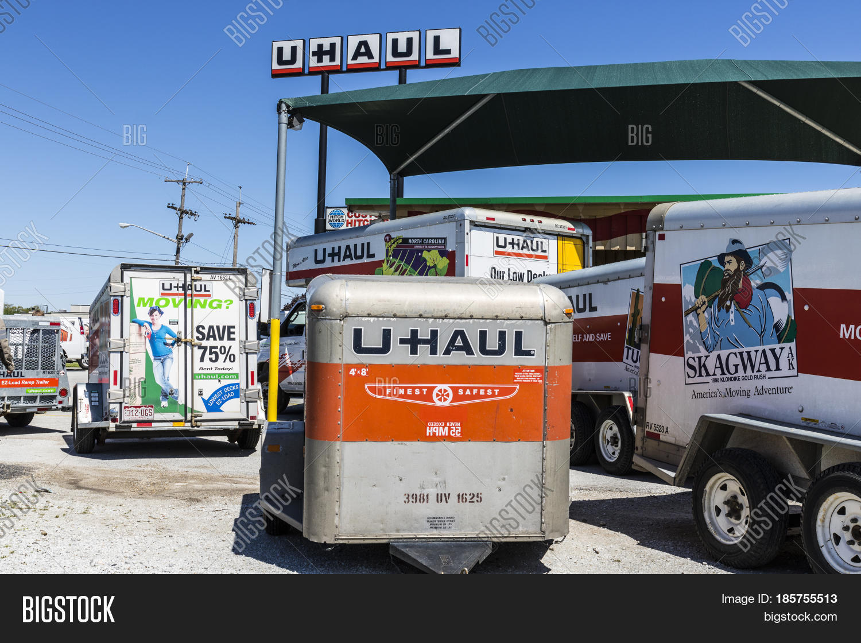 U Haul Moving Truck >> Kokomo Circa May Image Photo Free Trial Bigstock