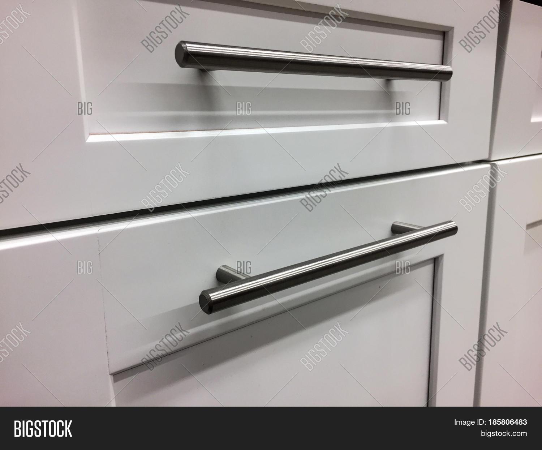 White Kitchen Cabinets Image Photo Free Trial Bigstock