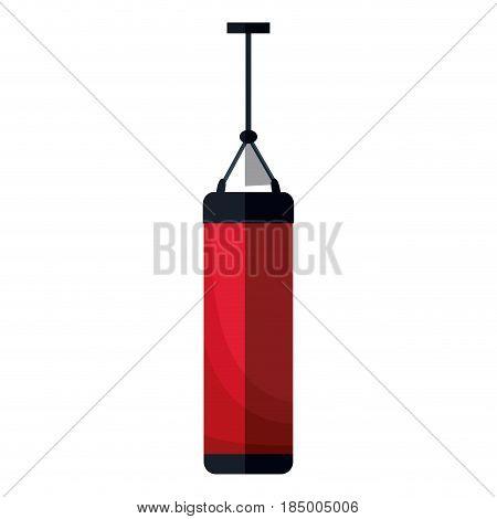 push bag traing sport equipment design, vector illustration graphic