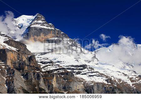 Jungfrau Peak (4158m), Switzerland - UNESCO Heritage