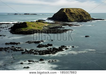 Phillip Island. A long exposure of the Phillip Island seascape.