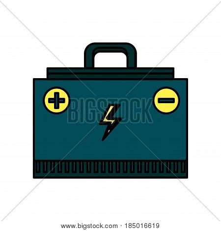 energy logger to meter electricity in the planet, vector illustration