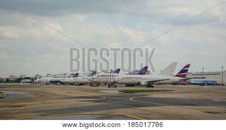 Don Mueang Airport In Bangkok, Thailand