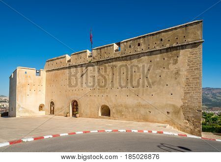 View at the fortification Borj Sud in Fez - Morocco