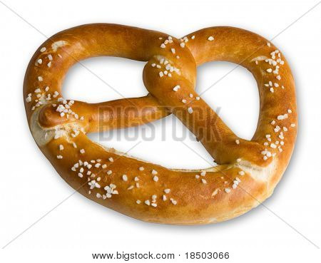 Bavarian Pretzel from the Oktoberfest in Munich