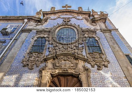 The Third Order Church in Porto city Portugal