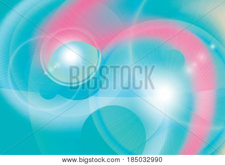 Abstract colorful futuristic background. Vector illustration. Bright energy motion effect decorative template.
