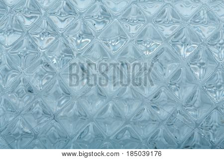 Texture Glass. Mosaic. The Composition Of The Glass. Watercolor Mosaic Tiles With Internal Lighting.