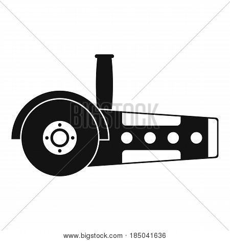 Circular saw icon in simple style isolated vector illustration