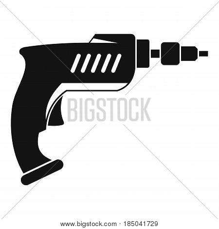 Drill icon in simple style isolated vector illustration