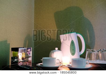 The image of teapot