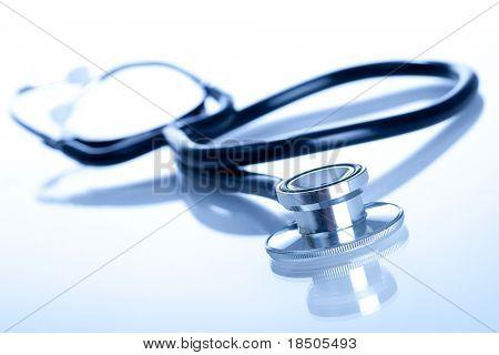 Stethoscope (blue tint)