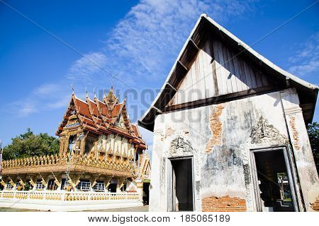 Wat Mai Amphawan Nai Mueang Mueang Nakhon Ratchasima District Nakhon Ratchasima 30000 Thailand.built after the battle an army of Chao ANU. In 2370