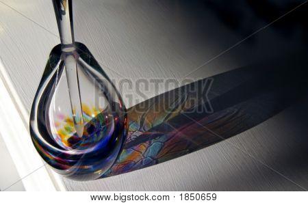 Perfume Bottle With Sunlight