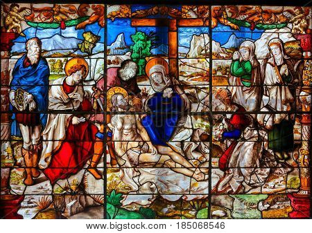 Stained Glass - Descent From The Cross
