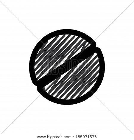 Screw head tool icon vector illustration graphic design