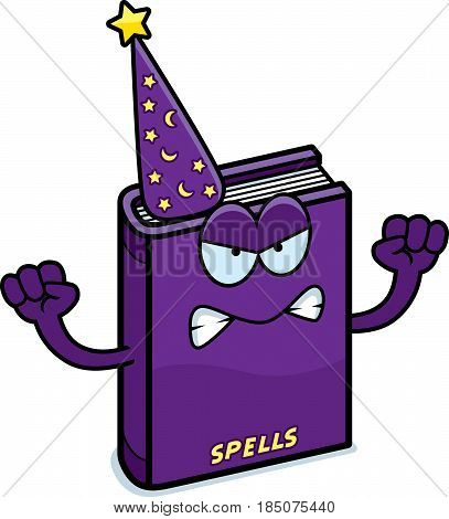 Angry Cartoon Spell Book