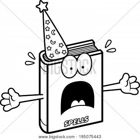 Scared Cartoon Spell Book