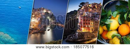travel amazing Italy series - details from the villages of Cinque Terre national park, Liguria - individual pictures can be found in gallery