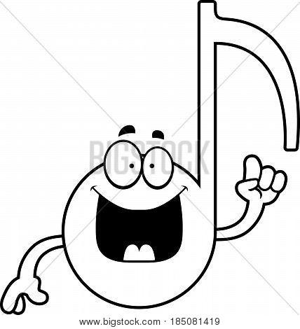 Cartoon Musical Note Idea