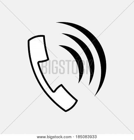 icon Telefon, Kommunikation, Kommunikation Mode, voll editierbar Vektor-Bild