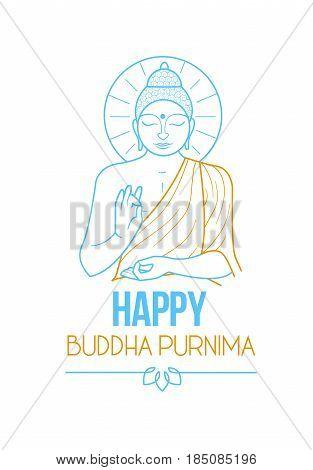 Banner Buddha Purnima