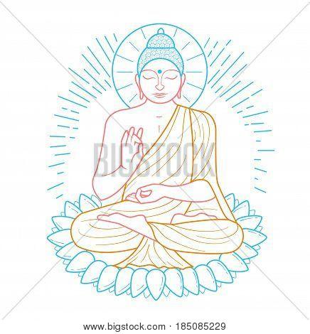 Buddha Purnima Icon