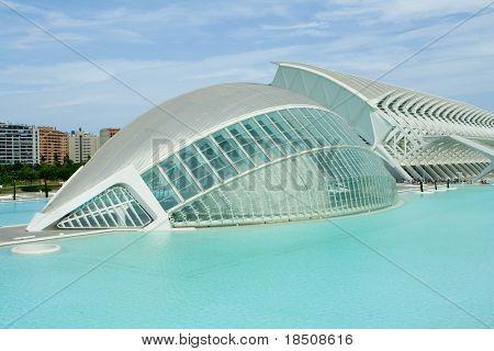 Hemisferic in Valencia, Spain