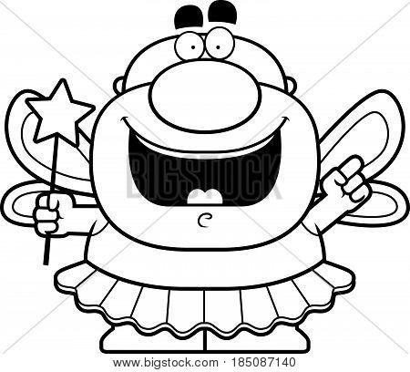 Cartoon Tooth Fairy Idea