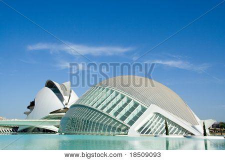 Hemisferic and Palau de Les Arts in Valencia, Spain