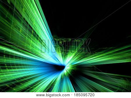 abstract blue green futuristic background texture