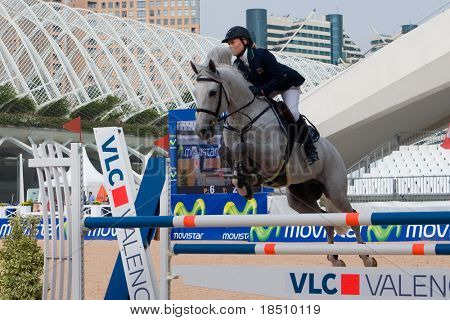 VALENCIA, SPAIN-MAY 9: Grand Prix of Spain Equestrian Competition on May 9, 2009 in Valencia, Spain
