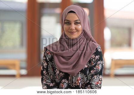 Humble Muslim Prayer Woman