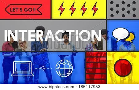Interactive Interaction Networking Connecting Internet
