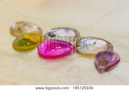 Crystals Made Of Epoxy Resin