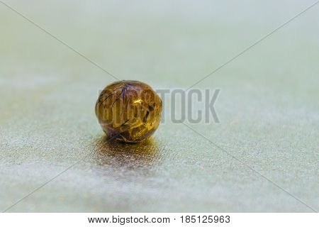 Epoxy Resin Ball Shaped Crystal With Dandelion