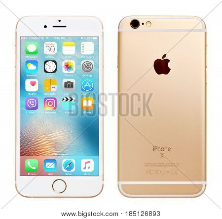 Gold Apple Iphone 6S