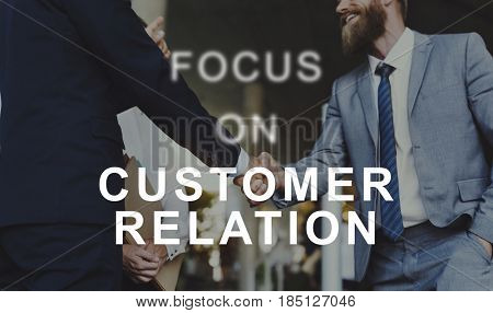 Customer Relation Advice Service Client